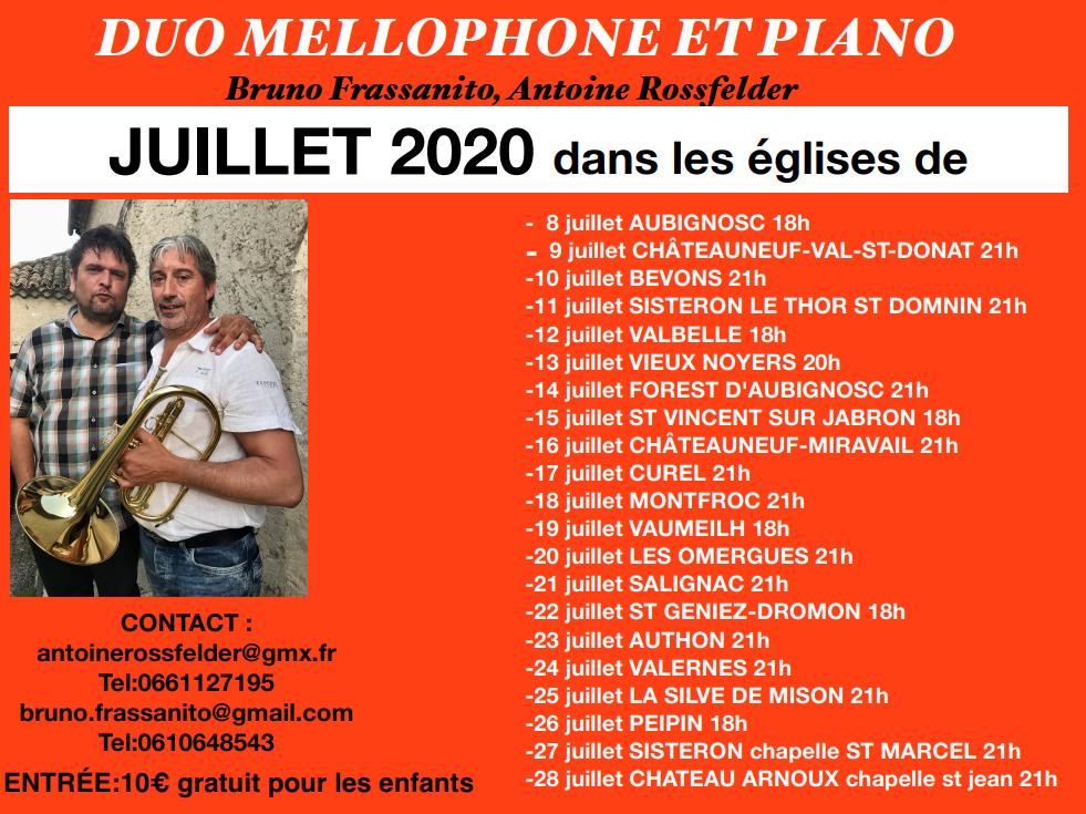 duo mellophone et piano